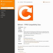 Refresh - die TYPO3-Compatibility-Class: Manual (Entwurf)